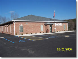 Photo of the Morgan County BCSE office